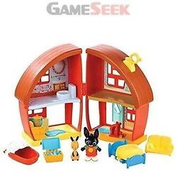 Brand new BING play house includes figures and furniture