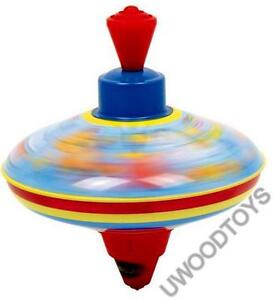 NEW SMALL TRADITIONAL CHILDRENS HUMMING SPINNING TOP by UWOODTOYS