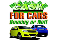 WE BUY CARS FOR CASH - MOT FAILURES - ANYTHING CONSIDERED SAME DAY CASH PAYMENT