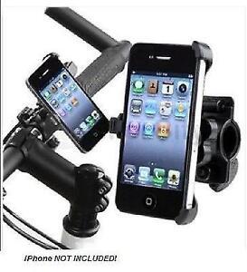 High Quality Bike Mount Holder for iPhone 4G - Black