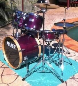 Mapex 5 piece drum kit Armadale Armadale Area Preview