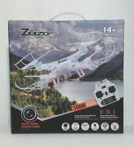 New ZuZo FX1-1006 2.4GHz 4CH 6 Axis Gyro RC Quadcopter (*Camera)
