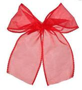 Red Christmas Tree Bows
