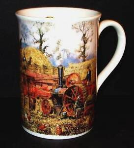 Danbury Mint ~ Threshing ~ Days on the Farm Mug