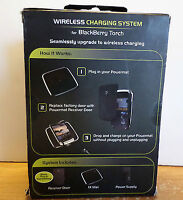PowerMat Wireless Charging System For Blackberry Torch NEW