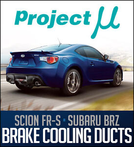 Project Mu FR-S/BRZ Brake Cooling Ducts - Limitless Motorsports