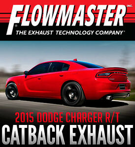 Flowmaster Force II Catback Exhaust for 2015 Dodge Charger R/T