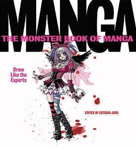 The-Monster-Book-of-Manga-Estudio-Joso