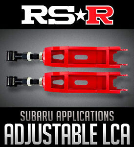RS-R Rear Lower Control Arms for Subaru & Limitless Motorsports!