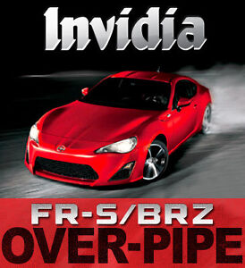 Invidia Over-Pipe : 2012+ FR-S/ BRZ - Limitless Motorsports