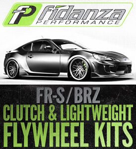 Fidanza Performance FR-S & BRZ Clutch and Lightweight Flywheels