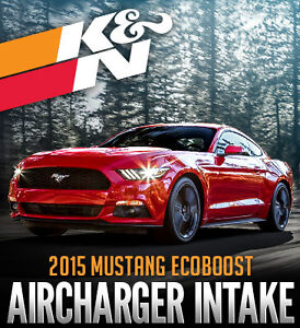 K&N Aircharger Air Intake for 2015 Ford Mustang Ecoboost