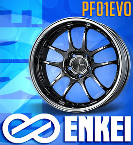 Enkei PF01EVO Now Available at Limitless Motorsports