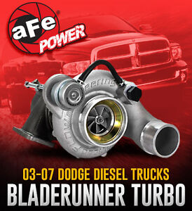 aFe Power BladeRunner Turbocharger 03-07 Dodge Diesel Trucks