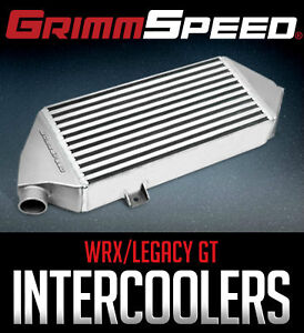 GrimmSpeed Top Mount Intercoolers - 08-14 WRX / 05-09 Legacy GT