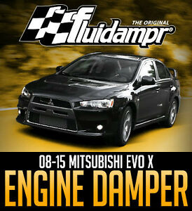 Fluidampr Performance Crankshaft Damper for Mitsubishi Evo X