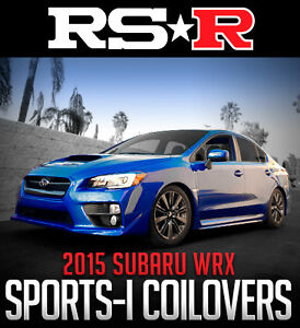RS-R Sports-I Coilovers for 2015+ Subaru WRX
