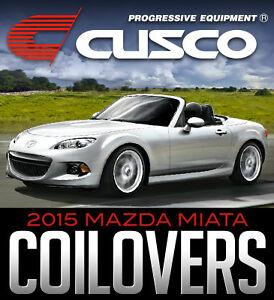 Cusco Street Zero-A Coilovers for 2015 Mazda Miata