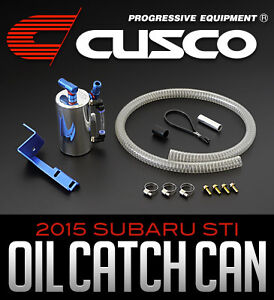 Cusco 2015 STI Oil Catch Can - Limitless Motorsports