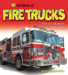 Fire Trucks and Rescue Vehicles (QED First Book of)-ExLibrary
