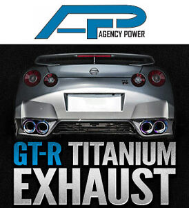 Agency Power Titanium Exhaust - Nissan R35 GT-R - Limitless