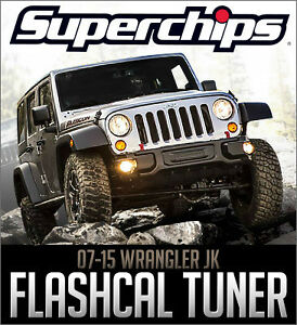 Superchips Flashcal - 2007-2015 Jeep Wrangler JK
