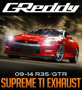 GReddy Supreme Ti Exhaust - R35 GTR - Limitless Motorsports