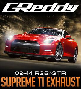 GReddy Supreme Ti Exhaust - R35 GTR - Limitless Motorsports