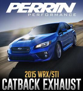 PERRIN Performance Catback Exhaust for 2015+ Subaru WRX/STI