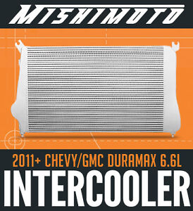 Mishimoto Performance Intercooler - 2011+ Chevy/GMC Duramax 6.6L