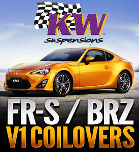 KW Variant 1 Coilovers for FR-S/ BRZ - Limitless Motorsports