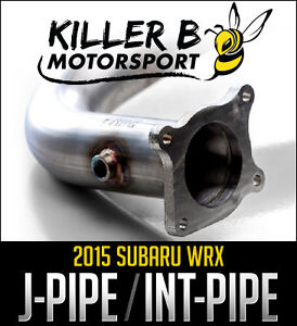 Killer B 2015 WRX J-Pipe and Intermediate Pipe - Limitless Motor
