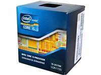 Intel i5 3570k - Z77A-GD65 Motherboard - 16GB HyperX Fury DDR3 RAM