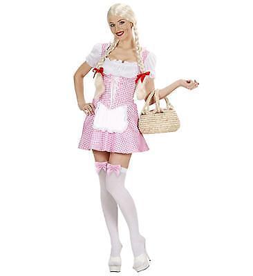 Damen Kostüm Dirndl Miss Muffet rosa Oktoberfest Bayern Gr. S, M, L, - Miss Oktoberfest Kostüm