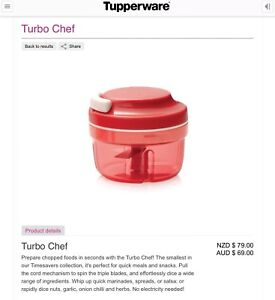Tupperware - Turbo Chef Taigum Brisbane North East Preview