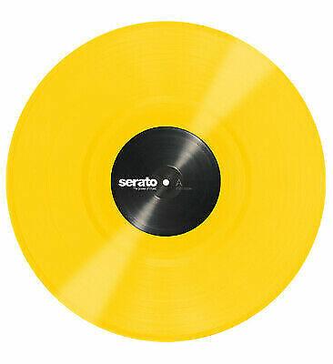 "Serato SCV-PS-YEL-OV 12"" Yellow Control Vinyl Pressing For Serato DJ Pro(Pair)"