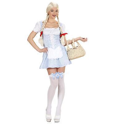 Damen Kostüm Dirndl Miss Muffet blau Oktoberfest Bayern Gr. S, M, L, - Miss Oktoberfest Kostüm