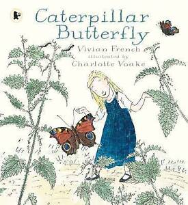 FRENCH,V-CATERPILLAR BUTTERFLY  BOOK NEW