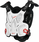 Alpinestars White Motorcycle Chest Protectors