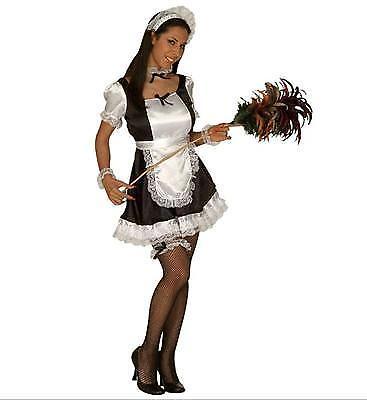 KOSTÜM ZIMMERMÄDCHEN 38/40 M Karneval Uniform Kleid Fasching French Maid