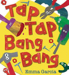EMMA GARCIA-TAP TAP BANG BANG  BOOK NEW
