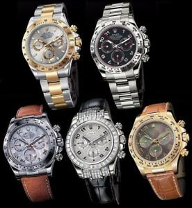 Currently Looking to Buy New & Used High End Watches - Rolex, Breitling, Seiko, Cartier, ETC.