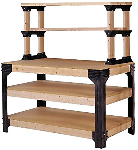 2x4 Basics Work bench Shelving Storage