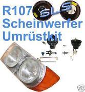 W107 Scheinwerfer
