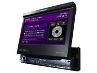 "Pioneer AVH-P5900DVD In Car CD/DVD 7"" Touchscreen. Complete/Boxed."