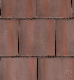 Approximately 60 Mini Stonewold Roof Tiles in Breckland Brown