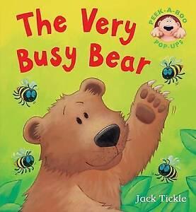 The Very Busy Bear (Peek-a-boo Pop-ups), Jack Tickle, New Book
