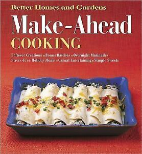 Make ahead cooking better homes gardens 696212218 ebay Better homes and gardens video episodes