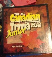 All Canadian Junior Trivia game for sale