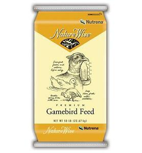 I WANT and I AM LOOKING for wild game bird layer feed-quails